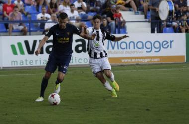 El Badajoz no pasa del empate ante el UCAM Murcia