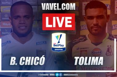 Resumen Boyacá Chicó vs Deportes Tolima (2-1) en la fecha 11 por la Liga BetPlay 2021-I