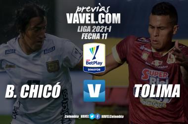Previa Boyacá Chicó vs Deportes Tolima: partido con realidades distintas