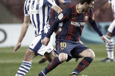 """Imanol Alguacil: """"Hemos merecido el empate contra el Barcelona"""""""