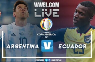 Resumen Argentina vs Ecuador por la Copa América (3-0)