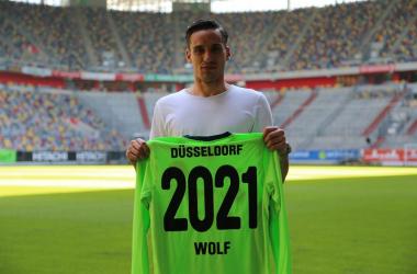 Raphael Wolf. | Photo:Fortuna Düsseldorf.