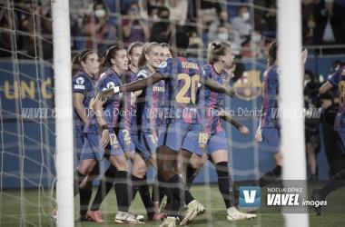 FCB Femení-Arsenal, primera jornada UEFA Women's League| Foto: Noelia Déniz-VAVEL