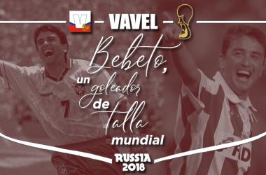 Bebeto, un goleador de talla mundial