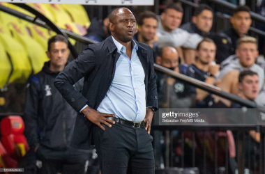 Patrick Vieira watches on / GettyImages
