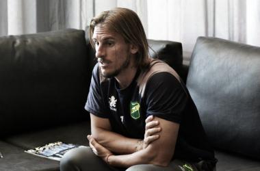 Sebastián Beccacece se muestra reflexivo. Foto: El Grafico