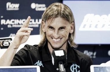 El entrenador no llegó a estar un año en su cargo (Foto Racing Club)