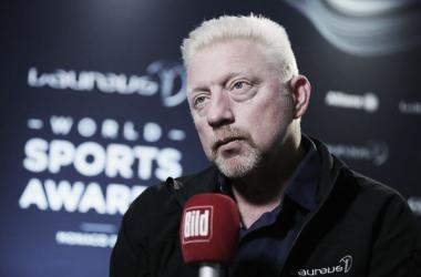 Becker, en la entrevista con Bild en los Premios Laureus. Foto: zimbio