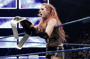 Lynch put her name in the history books. Photo- WWE.com