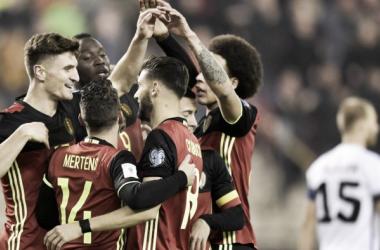 Qualificazioni Russia 2018 - Il Belgio a valanga sull'Estonia: 8-1 al King Baudouin Stadium
