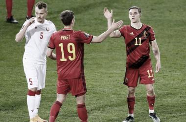 Gol e Melhores Momentos de Belarus x Bélgica (0-1)