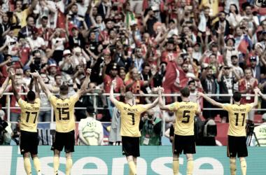 Bélgica se presenta como candidata. Fuente: FIFA