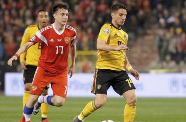Bélgica y Rusia se enfrentan en su estreno en la Eurocopa / Foto: diario AS
