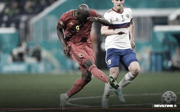 Bélgica vs Rusia // Fuente: Selección de Bélgica