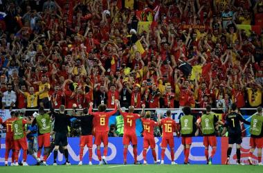 Belgio, funzionano anche le seconde linee | www.twitter.com (@AlderweireldTob)