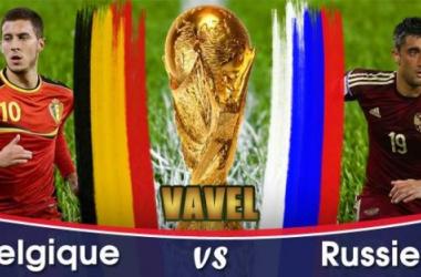 Live Coupe du Monde 2014 : Belgique - Russie en direct