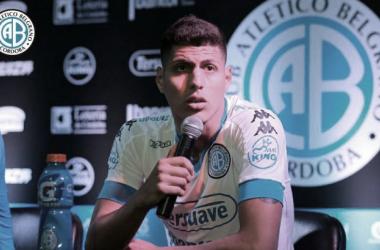 Riojas fue campeón del Torneo Apertura 2017 con Alianza Lima. Foto: Facebook - Club Atlético Belgrano.