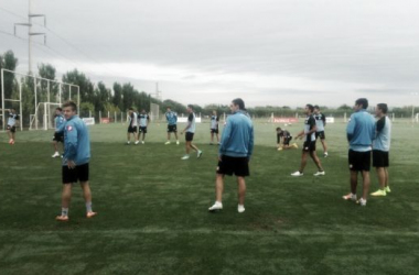 Belgrano entrenó con la mente puesta en el debut copero | FOTO: Mundo D.