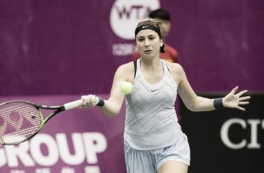 Belinda Bencic's impressive run continues | Photo: OEC Taipei WTA Challenger