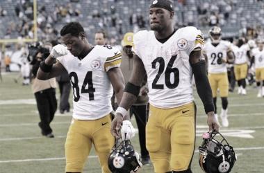 Bell y Brown, junto con Roethlisberger, formaron un gran ataque en Pittsburgh // Foto: Agencias