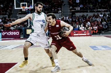 Bellas fue uno de los destacados en Tecnyconta/ Foto: Basket Zaragoza