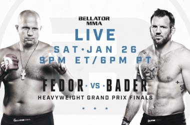 Fedor y Bader definirán al nuevo campeón pesado de Bellator (Foto: Paramount)
