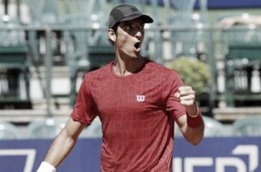 Bellucci comemora vitória (Foto: ATP/ Divulgação)