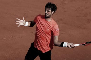 Bellucci bate forehand (Foto: Reuters)