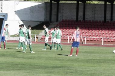 Duelo entre el Bembibre y el Astorga en la temporada 2012/2013.   Foto: Atlético Astorga.