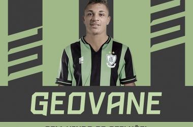 Geovane é a nona contratação do clube para a Série B (Foto: Divulgação/América-MG)
