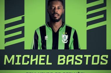 Michel Bastos é a sexta contratação do clube para a Série B (Foto: Divulgação/América-MG)