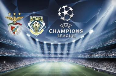 Benfica x Astana: Dar à chave da Luz para brilhar na Liga dos Campeões