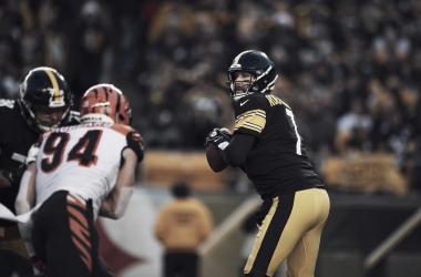 Ben Roethlisberger superó las cinco mil yardas en la temporada // Foto: Steelers