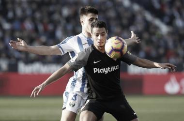 Ben Yedder fue el autor del gol sevillista en la primera vuelta   Foto: Sevilla FC
