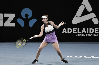 Belinda Bencic venceu Storm Sanders no Adelaide International 2021 (WTA / Divulgação)