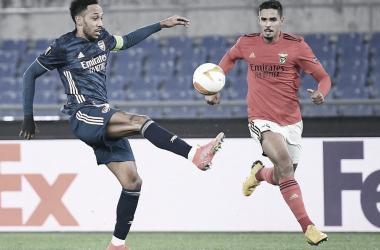 Na Itália, Benfica e Arsenal ficam no empate pela UEFA Europa League