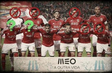 Benfica 2014/2015: A debandada do onze campeão