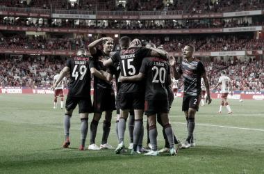 Benfica 2 a 0 Spartak (Divulgação / SL Benfica)