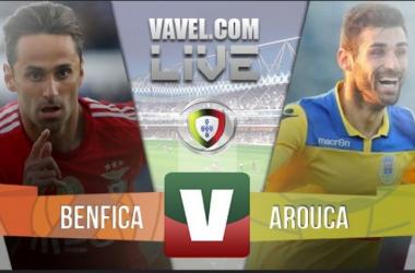 Resultado Benfica 3-1 Arouca na Liga NOS 2015/2016