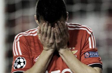 Fiasco para el Benfica en su Champions League