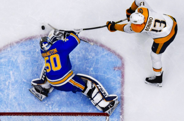 St. Louis Blues:  Jordan Binnington pacing their recent surge