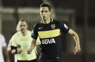 El uruguayo sigue evolucionando en su juego y anoche fue fundamental en la victoria. Foto: Ecuagol