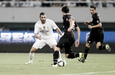 El Real Madrid se enfrentó al Milan en la International Champions Cup de 2015/ Foto: Real Madrid