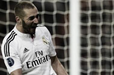 Benzema batte il Liverpool: è solo 1-0 al Bernabeu