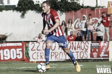 Bergantiños durante un partido con el Sporting. // Foto: Diego Blanco-VAVEL.