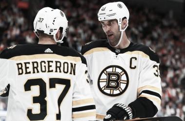 Bergeron & Chara: Lideres de los Bruins - NHL.com