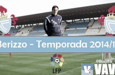 Puntuaciones Real Club Celta 2014/2015: Eduardo Berizzo