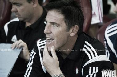 Eduardo Berizzo, entrenador del Celta de Vigo | foto: Jaime del Campo - VAVEL.