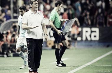 """Berizzo: """"Este equipo no se queda en la excusa del ausente; encuentra la solución en el presente"""""""