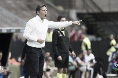 """Berizzo: """"El Bilbao ocupa nuestro lugar deseado y es una buena oportunidad para medirnos"""""""